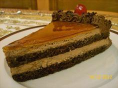 Ζαχαροπλαστική Πanos: Τούρτα μόκα, με επικάλυψη γλάσο καραμέλας