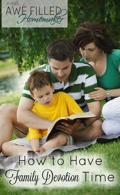 One of the most important things you can do as a family is to have a family devotion time.  via @AFHomemaker