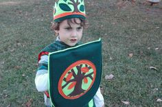 Woodland Knight Shield  EcoFriendly Adventure by TheTreeHouseKid, $45.00