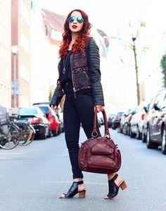 BLOG / RAUSCHGIFTENGEL  Jacke & Tasche vo MAZE Fashion  We love it!!  #perlepr #maze_fashion #rauschgiftengel #leather #handbags #jacket #ledertasche #ss2015 #spring #fashion #fashioblogger #fashionblogger_de