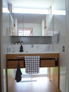 Natural Interior, Washroom, Double Vanity, Interior Architecture, Toilet, Laundry, House Design, Entrance, Lights
