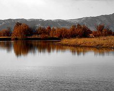 Autumn on Bear river