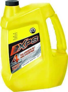 Ski-Doo, Can-Am, Sea-Doo XPS 4 Stroke All Climate Engine Oil Gallon ATV,PWC,Snow 293600115  Genuine BRP (Ski-Doo, Sea-Doo, Can-Am) 4 Stroke All Climate oil, gallon. This is factory original equipment oil, not aftermarket. Genuine BRP (Ski-Doo, Sea-Doo, Can-Am) 4 Stroke All Climate oil, gallon. This is factory original equipment oil, not aftermarket. Unlike other ordinary 4-stroke motor oils, XPS synthetic 4-stroke oil is primarily engineered to meet the particular lubrication require..