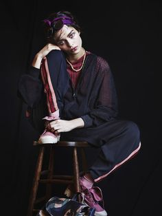 Luma Grothe for GREY Magazine - PHOTOS DE MODE