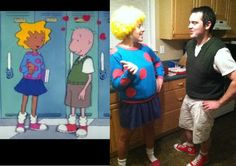 Patti Mayonnaise & Doug Funnie halloween costume