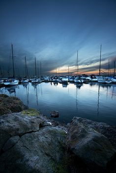 Kirkland Waterfront with Boats