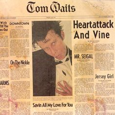 Find album reviews, stream songs, credits and award information for Heartattack and Vine - Tom Waits on AllMusic - 1980 - Heartattack and Vine, Tom Waits' first album in…