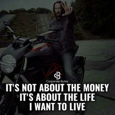 It's not about the money it's about the life I want to live. It's not about the money it Millionaire Lifestyle, Millionaire Quotes, Wealthy Lifestyle, Words Quotes, Life Quotes, Wise Words, Qoutes, Sayings, Message Quotes