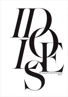 Idoles, editorial shot by Ines & Vinoodh for Vogue Paris _
