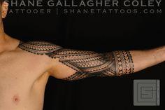 Samoan sleeve tattoo #samoantattoosforearm #samoantattoosshoulder