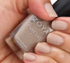 Zoya Pixie Dust in Godiva via Makeup and Beauty Blog