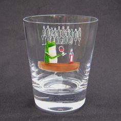 JAPANESE STYLE GLASS :   FROG GLASS / SOUKICHI