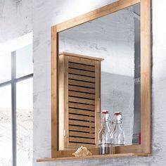 """Wandspiegel """"Bamboo"""" braun"""