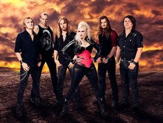 The lady from Battle Beast proves anyone can have a thigh gap if they stand the right way. But I still think it's the guy in the vest who farted.