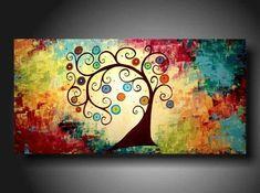 Resultado de imagen de easy canvas paintings for beginners step by step