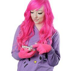 Kosketusnäyttösormikkaat -Vaaleanpunainen Bling | Cybershop