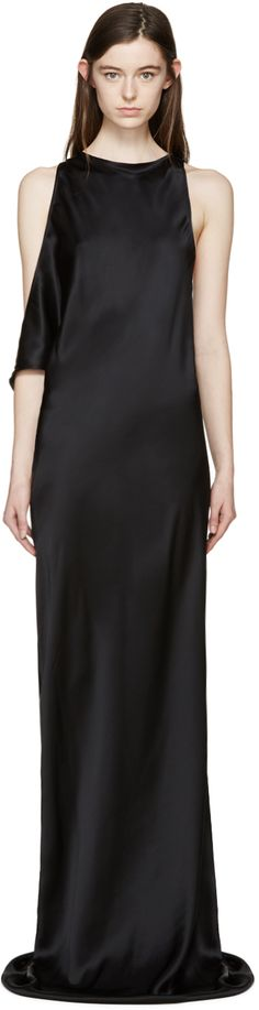 https://www.ssense.com/en-us/women/product/ann-demeulemeester/black-silk-rasoseta-dress/1496483