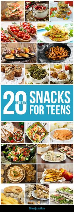20 Easy And Healthy Snacks For Teens: Getting teens to skip empty calories is not as difficult as you think. You just need a few delicious alternatives. So, here are 20 healthy snacks that will make you and your teen happy. Healthy Snack Ideas For Work Healthy Afternoon Snacks, Healthy Snacks For Kids, Easy Healthy Dinners, Simple Snacks, Clean Dinners, Healthy Diet Recipes, Snack Recipes, Healthy Food, Party Recipes