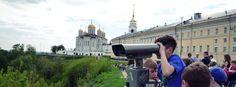 Город Владимир интересен церквями и старыми домами