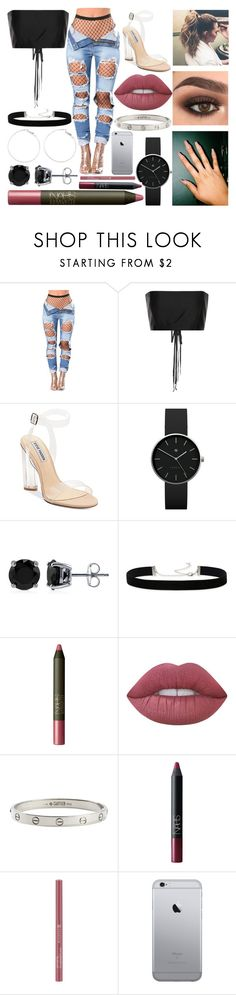 """After Party"" by susanna-trad on Polyvore featuring The Row, Steve Madden, Newgate, BERRICLE, 2028, NARS Cosmetics, Lime Crime and Cartier"
