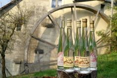 Damassine - This is a liqueur made by distilling the Damassine prune.