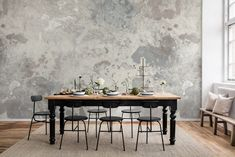 Retro Old Stone Wall Design Wallpaper Mural Home or Business Stone Wall Design, Custom Wall Murals, Ceiling Murals, Wall Wallpaper, Custom Wallpaper, Dining Room Walls, Concrete Wall, Wall Treatments, Home Decor Accessories