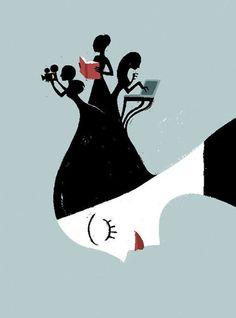Non a voce sola by Rita Petruccioli, via Behance
