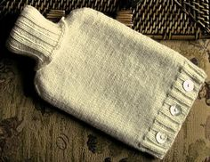 Ravelry: Hot Water Bottle Cover pattern by Tina Birch