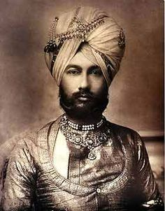 Portrait of H. The Raja of Faridkot, India century