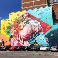 @houseofmeggs #meggs #montreal #muralart #streetart @muralfestival