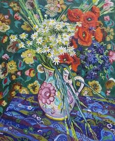 Vase with Flowers, Vincent van Gogh