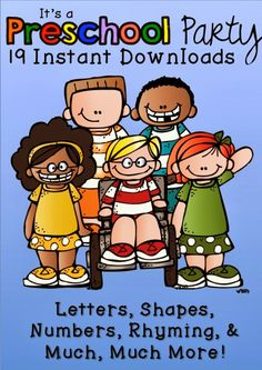 A great preschool bundle---19 awesome downloads!!  Check it out now!