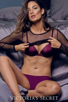 Sexy #costume idea: a web of sheer mesh. | Victoria's Secret