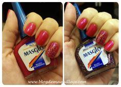 El esmalte de la semana: combinación de Masglo Class Ring, Food And Drink, Nail Polish, Nails, Beauty, Ideas, Finger Nails, Beleza, Ongles