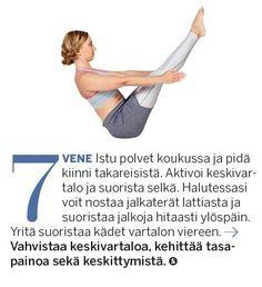 Aineenvaihdunta käyntiin ja lisää energiaa! Herätä keho 10 minuutin joogasarjalla | Me Naiset Keeping Healthy, Hiit, Pilates, Wellness, Workout, Fitness, Sports, Stretching, Shape