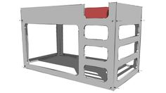 Plywood Bunk Bed - 3D Warehouse