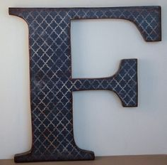 wooden letter wall decor. Letter F, 12\ Wooden Wall Decor