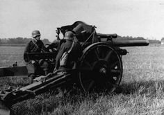 Hungarian Gun Crew ready for action on the Eastern Front. Pin by Paolo Marzioli