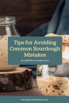 Thinking about making your own sourdough? Be sure to avoid these most common sourdough baking mistakes! #jrpiercefamilyfarm #makingsourdough #sourdoughmistakes #homemadesourdoughbread #sourdoughbread Recipes With Yeast, Sourdough Recipes, Sourdough Bread, Real Food Recipes, Farm Projects, Home Grown Vegetables, Bulk Food, Urban Homesteading, Organic Farming