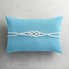 Finely woven and soft to the touch, our Cabana fabric is tough enough for outdoors but pretty enough for indoors. It's available in bold and bright colors in pillows plus contour and select modular cushions in standard and large sizes, as well as dining cushions. Our rope-trimmed pillow has a nautical attitude and will look great near your pool, on your patio or in your family room.
