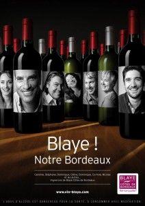 Vins de #Blaye ose la différence, en remplaçant ses étiquettes par le portrait des vigneron(e)s. Un super projet, que j'aurais aimé porter ! - #wine #design #innovation #portrait #photography #etiquette - Campagne a été réalisé par le photographe bordelais Alain Benoît du studio #Deepix.