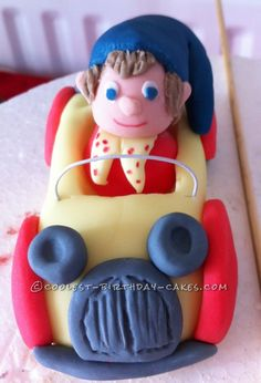 Coolest Noddy Birthday Cake... This website is the Pinterest of birthday cake ideas