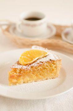 Crostata frangipane all'arancia