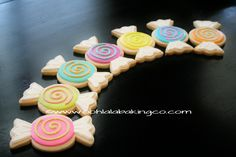 Candy cookies  www.oohlalabakingco.com