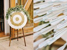 seating chart - photo by Rebekah Westover http://ruffledblog.com/camping-inspired-wedding-at-sundance-resort