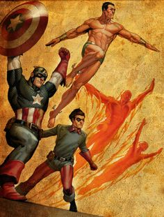 The Invaders by Steve Epting