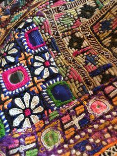 Rabari embroidery, India