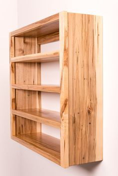 Paccione Construction: Wormy U0026 Curly Maple Shelving