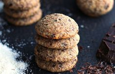 Chocolate coconut cookies #chocolateparty - Mytaste.com