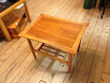 Mid-Century Modern Teak Wood  Side or End Table Danish ...
